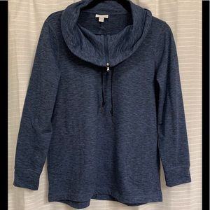 J Jill Fit - Cowl Neck Pullover - Size Small